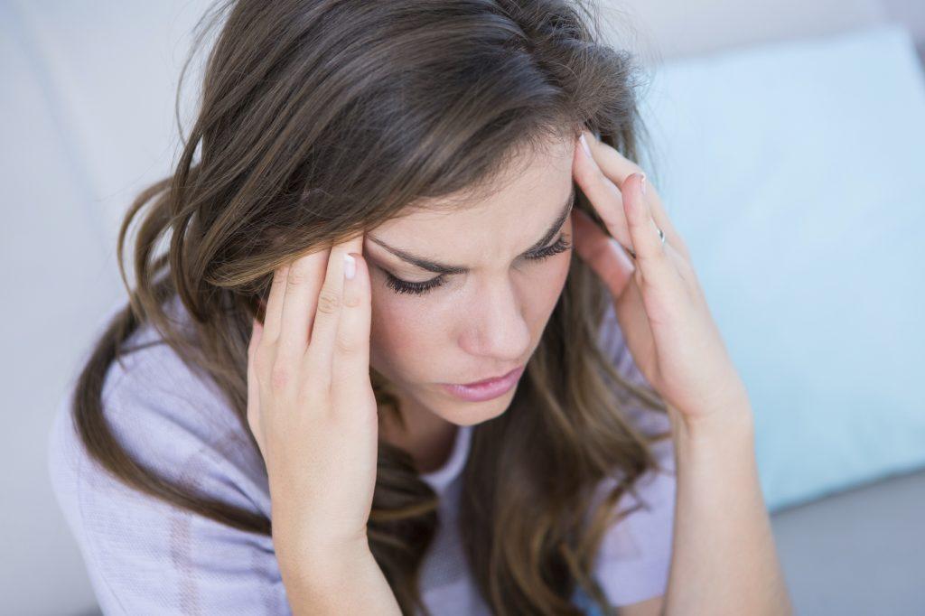 Stekende hoofdpijn