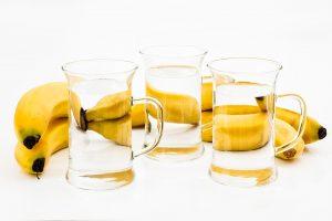 Banaan, water en kalium