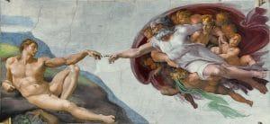 De schepping van Adam door God (Michelangelo)