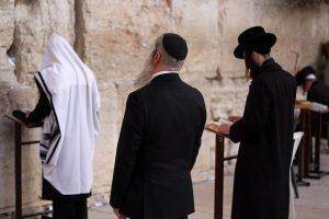 Joden bij de klaagmuur