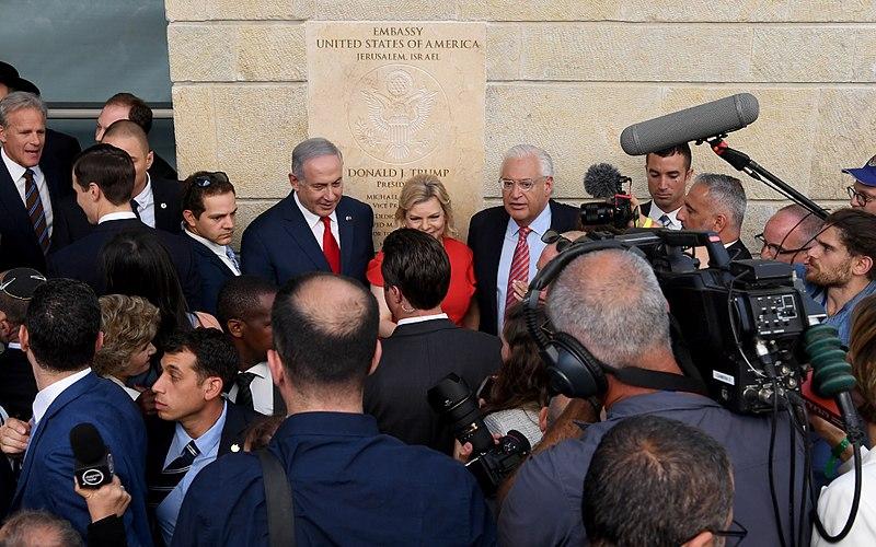 Inwijdingsceremonie van de Ambassade van de Verenigde Staten in Jeruzalem